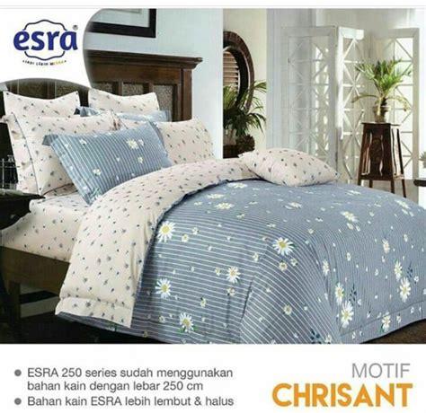 Harga Sprei Merk Esra detail product sprei dan bedcover esra chrisant toko