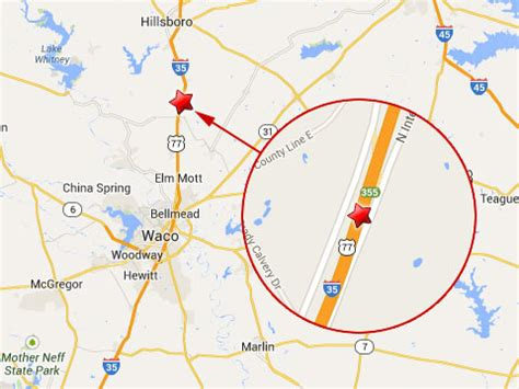 texas mile marker map semi truck driver killed on i 35 near waco truck lawyer news