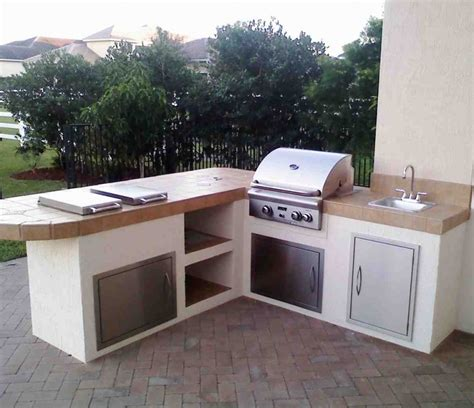 Outdoor Kitchen Furniture Modular Outdoor Kitchen Cabinets Home Furniture Design