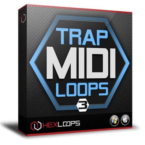 trap drum pattern midi trap midi loops vol 3 midi files and patterns pack