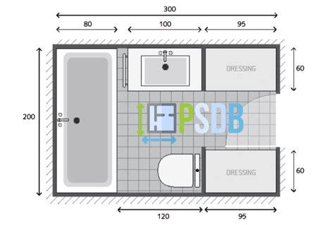 Modele Salle De Bain 5m2 by Plan Plan Salle De Bain De 6m2 Exemple De Plan D