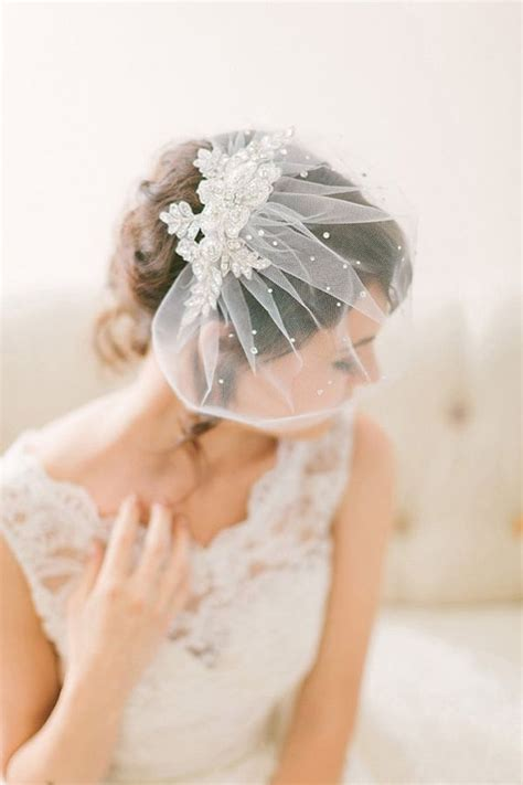 Wedding Hair For Birdcage Veil by 25 Best Ideas About Birdcage Veils On