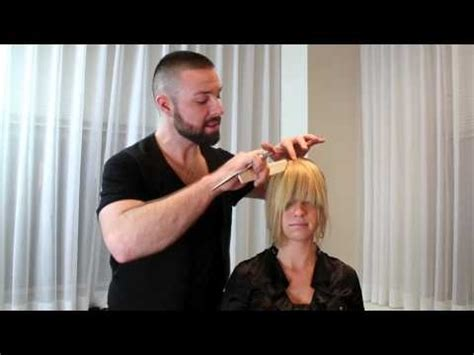 how to bread front bangs steps 17 best images about how to cut your own fringe bangs on