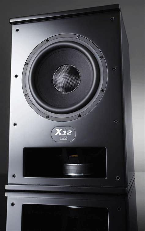 mk sound  dual  thx ultra certified powered subwoofer