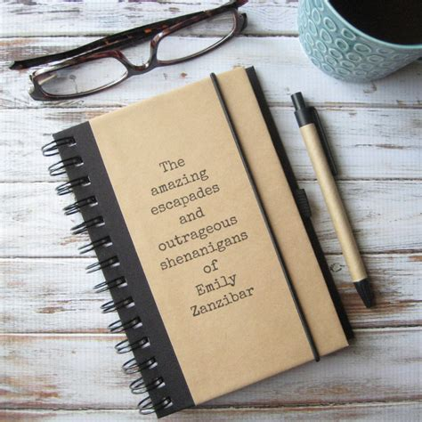 personalized gifts for women journal personalized womens graduation gift idea for women