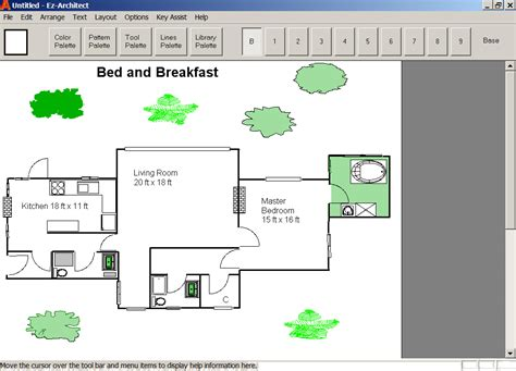 House Design Software For Windows 7 Ez Architect For Windows 7 And 8 And 10 And Xp And Vista