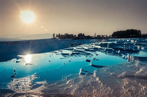 pamukkale thermal pools pamukkale thermal pools in turkey travels and living