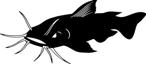flathead catfish silhouette free printables pinterest