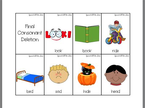 consonant deletion worksheets getting quot speechie quot with a book llama llama misses