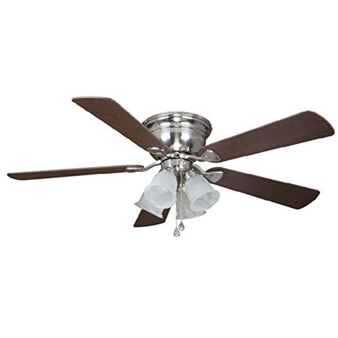 harbor flush mount ceiling fan harbor centreville 52 inch indoor flush mount