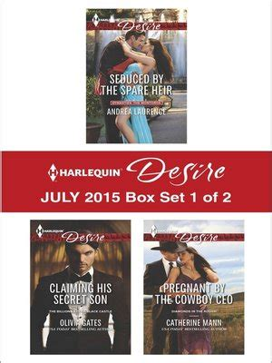 claiming his secret heir the mcneill magnates books harlequin desire july 2015 box set 1 of 2 seduced by