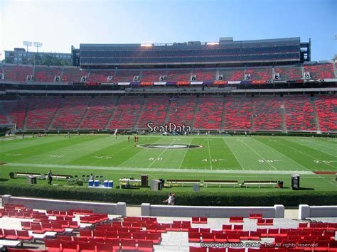sanford stadium student section 301 moved permanently