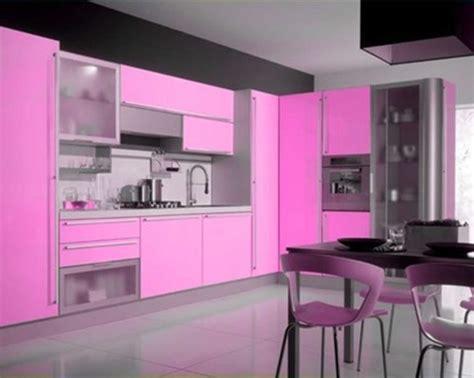 modern pink kitchen design interior design