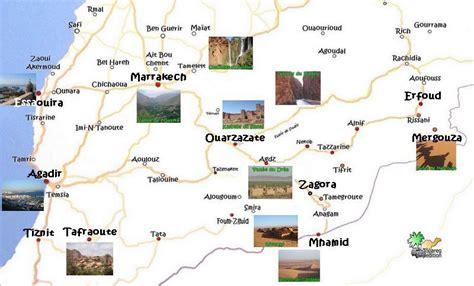 Infos sur : carte touristique maroc Arts et Voyages