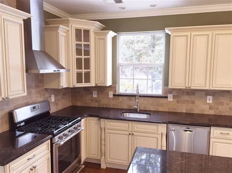Pearl Kitchen Cabinets Kitchen Remodeling In Nj Traditional Newark By Danvoy Llc