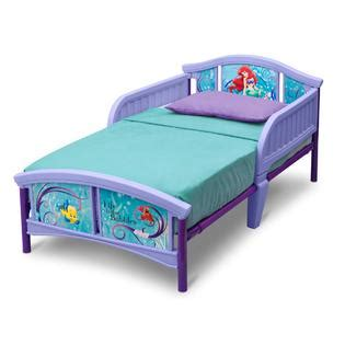 kmart kids beds delta children disney little mermaid toddler bed baby
