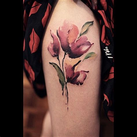 watercolor tattoo za best 25 poppy flower tattoos ideas on poppy