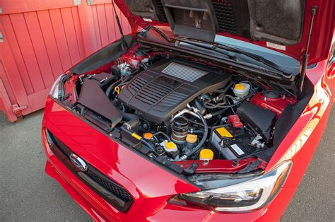 2016 subaru wrx turbo 15 optional engines worth stepping up to motor trend