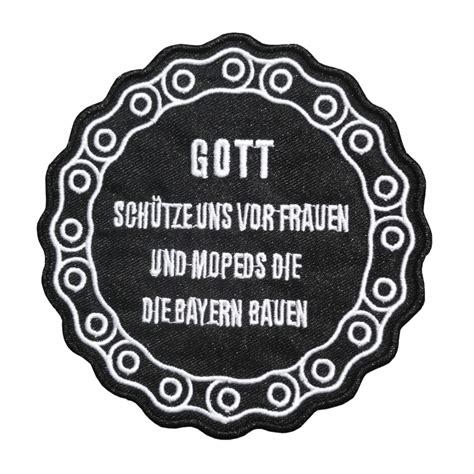 Witzige Aufkleber Motorrad by Aufn 228 Aufb 252 Gler Gott Sch 252 Tze Uns Lustiger Spruch Biker