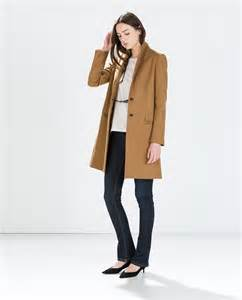 Wool Camel Coat Outerwear Woman Zara United States