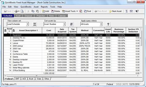 Depreciation Report In Quickbooks by Quickbooks Desktop Enterprise