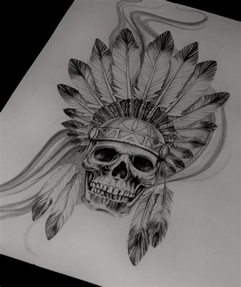 native american skull tattoo american skull tattoos www imgkid the image