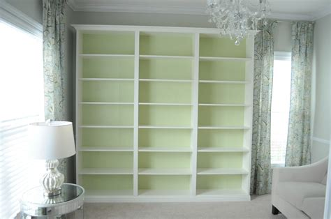 built in bookcases not so newlywed mcgees quot built in quot bookshelves