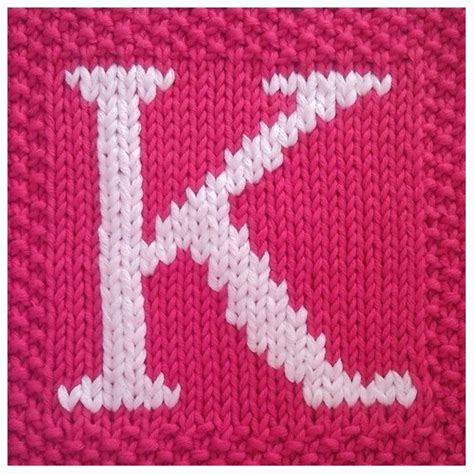 knitting pattern for letters 22 best letters images on tree