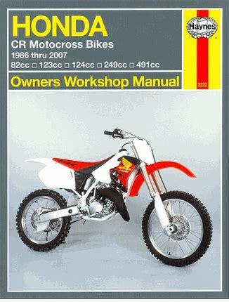 service manual motor repair manual 2010 honda cr v transmission control 2007 honda element honda cr80 85r rb cr125r cr250r cr500r repair manual 1986 2007