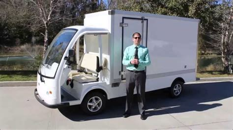 electric truck for sale electric cargo truck by citecar electric vehicles