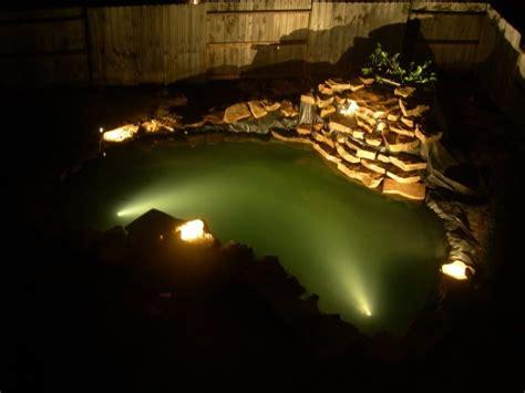 underwater led lights for ponds koi pond lights koi landscape lighting lawn care