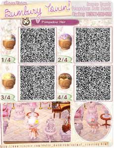 acnl qr code hair animal crossing qr codes