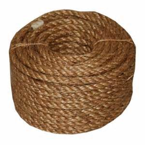 home depot rope t w cordage 3 4 in x 100 ft 5 manila rope 26
