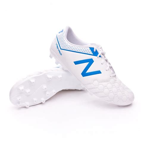 Jual New Balance Visaro boot new balance visaro 1 0 liga ag piel white blue soloporteros is now f 250 tbol emotion