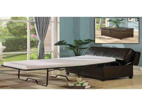 sleeper ottoman with memory foam mattress 17 best ideas about sleeper ottoman on ottoman