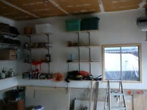 garage wall shelving ideas home design interior monnie garage shelving ideas