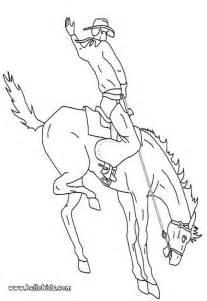 DER WILDE WESTEN Zum Ausmalen  Cowboy Und Pferd sketch template