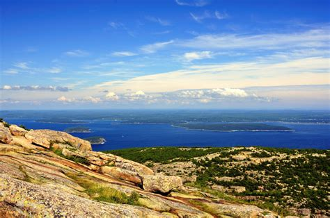 Acadia National Park Cadillac Mountain Cadillac Mountain Acadia National Park Maine Rayfausel