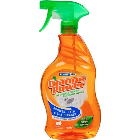 power bathroom cleaner orange power bathroom cleaner shower bath tile 750ml