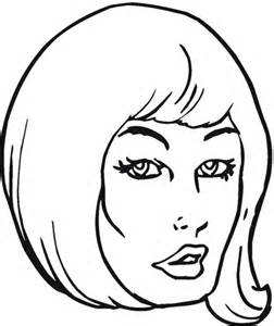 Girl With Beautiful Hair Coloring Page Supercoloring Com Hair Coloring Page