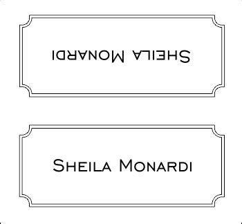 10 Best Images Of Table Place Card Templates Table Place Table Card Template