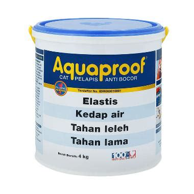 Cat Pelapis Anti Bocor Aquaproof Jual Aquaproof Cat Pelapis Anti Bocor Markisa 4 Kg