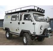 Malaysian Campervan Journey UAZ 452 Buhanka Bread Loaf Van