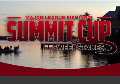 Major Sweepstakes - major league fishing summit cup sweepstakes sun sweeps