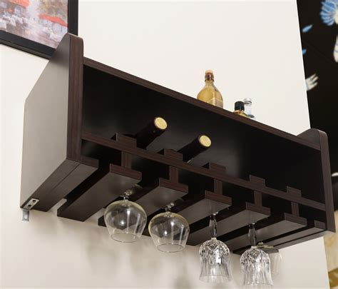wall mounted wine cabinet wall mounted wine glass holder homesfeed