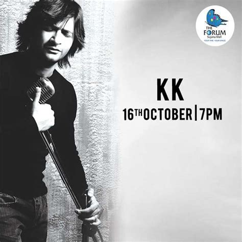 bookmyshow forum mall alive india in concert kk live at the forum sujana mall