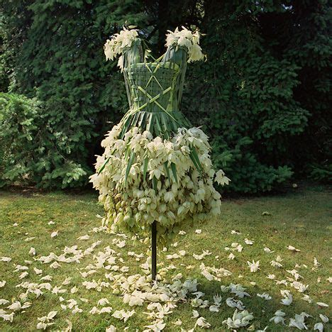 weedrobes artist creates stunning garments from fruit