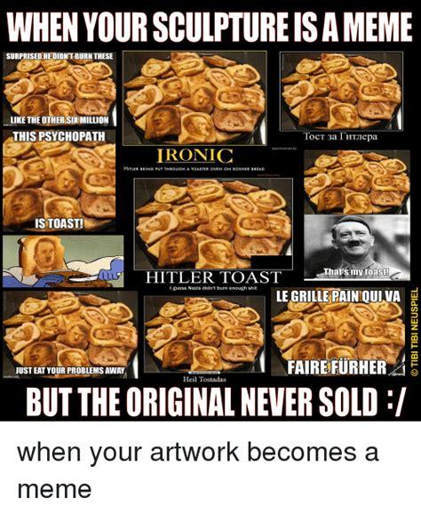 Orange Jews Meme - 25 best memes about hitler toast hitler toast memes
