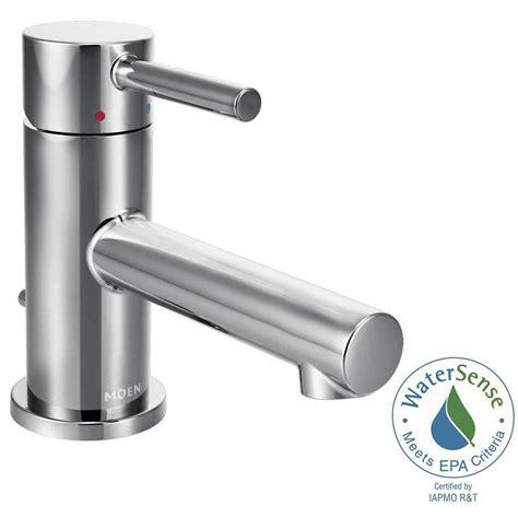 moen bathroom faucets home hardware moen align single 1 handle bathroom faucet in chrome 6191 the home depot