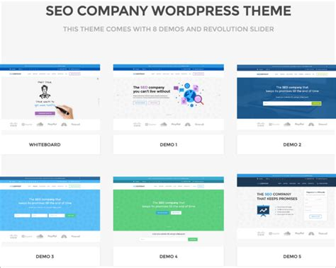 20 Seo Friendly Wordpress Themes Free Website Templates Seo Template 2017